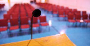 deliver a speech small company
